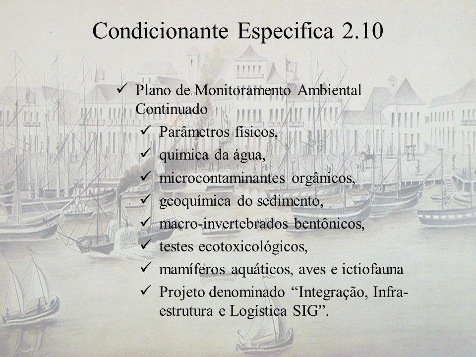 Condicionante Especifica 2.10