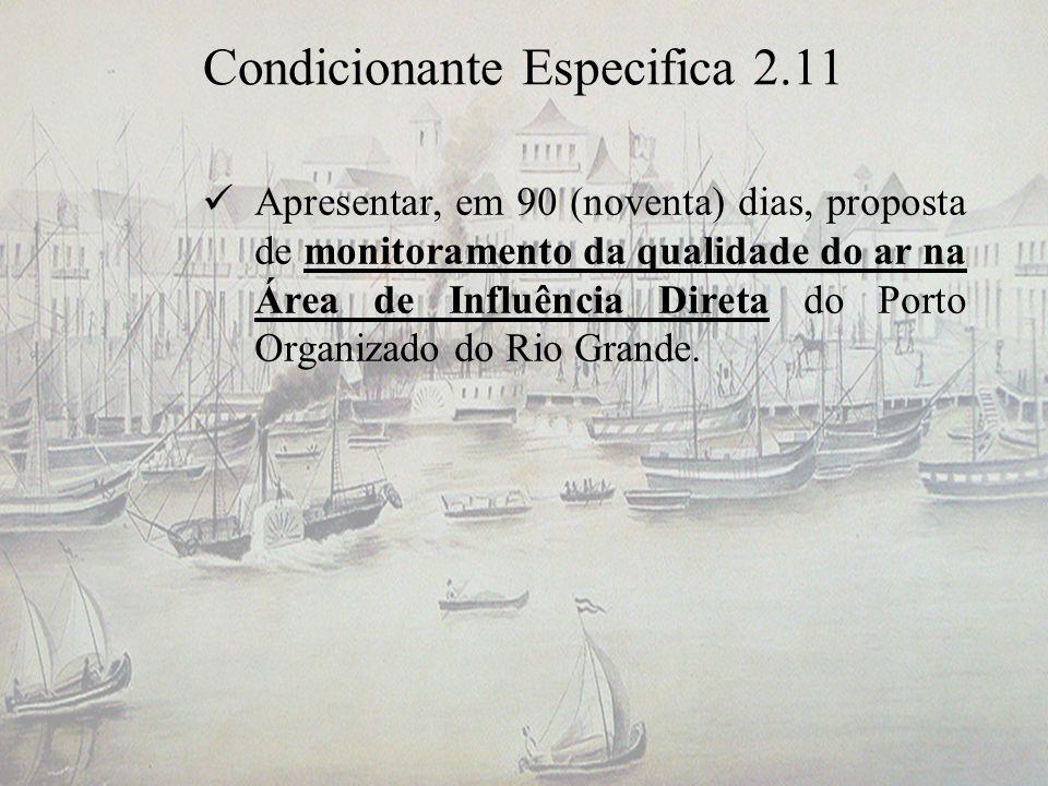 Condicionante Especifica 2.11