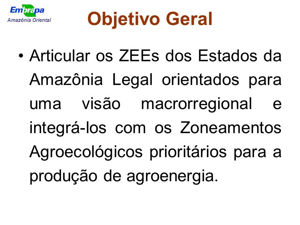 Objetivo Geral Amazônia Oriental.