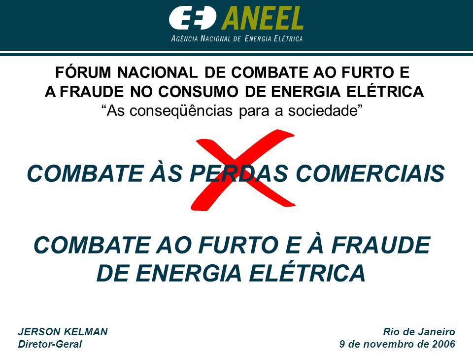 COMBATE AO FURTO E À FRAUDE DE ENERGIA ELÉTRICA