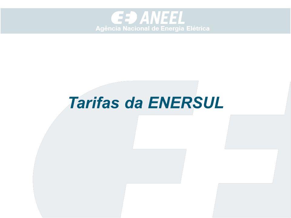 Tarifas da ENERSUL