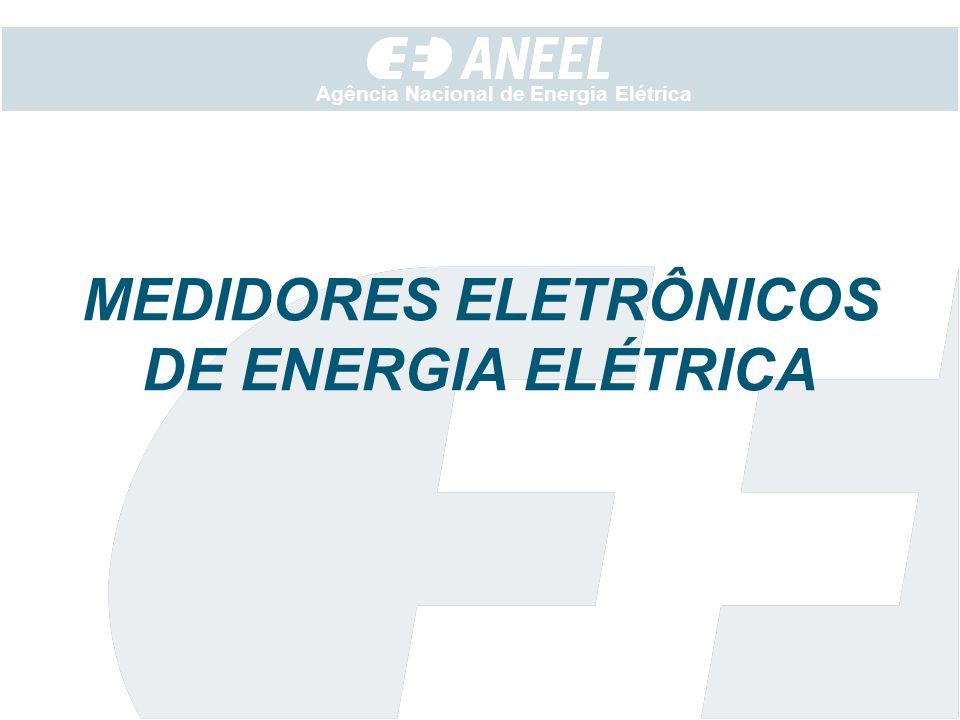 MEDIDORES ELETRÔNICOS DE ENERGIA ELÉTRICA