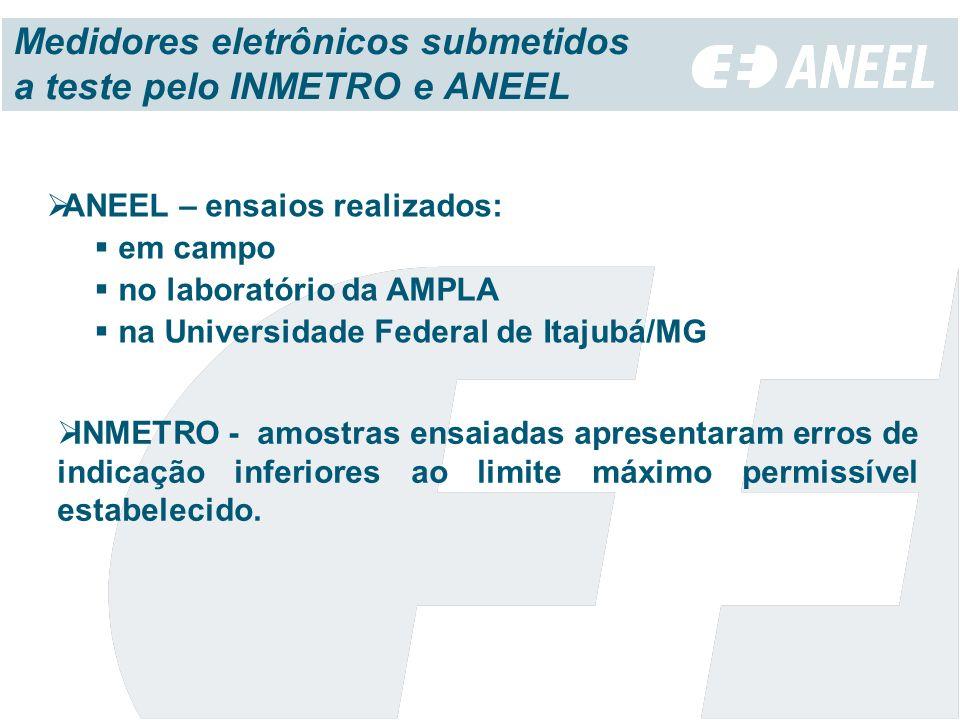 Medidores eletrônicos submetidos a teste pelo INMETRO e ANEEL