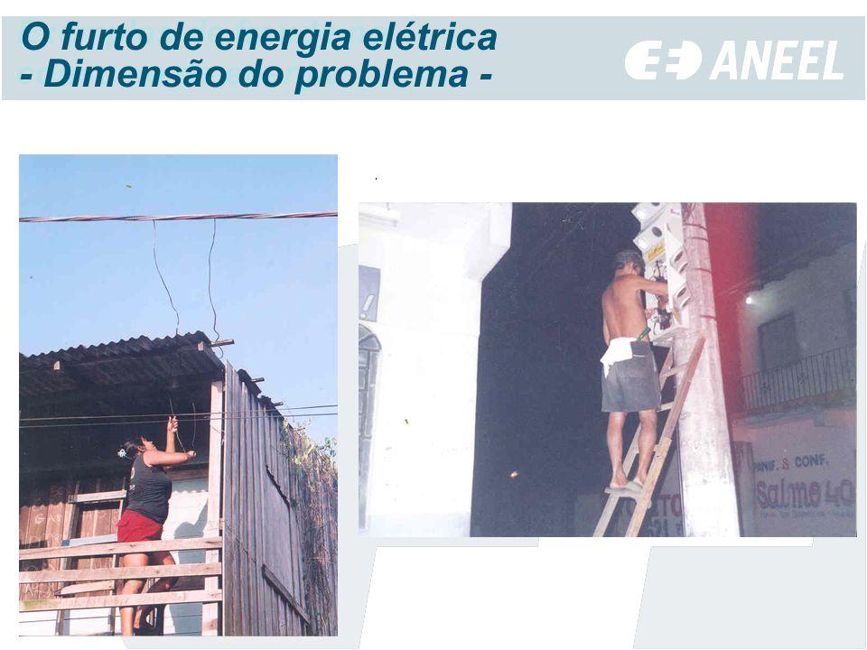 O furto de energia elétrica - Dimensão do problema -