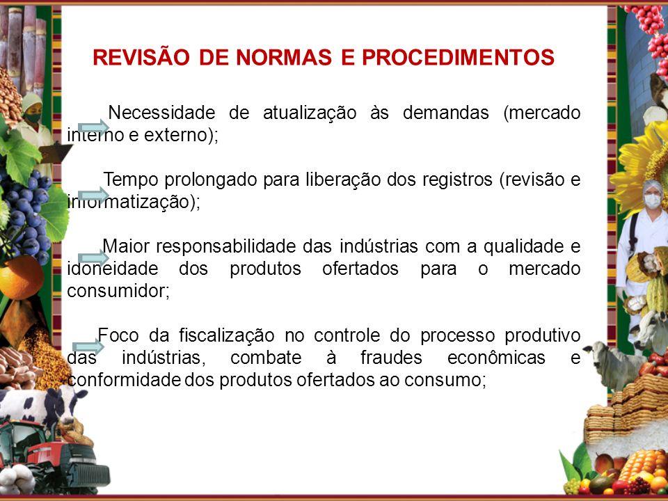 REVISÃO DE NORMAS E PROCEDIMENTOS