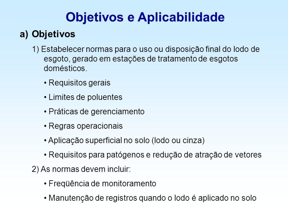 Objetivos e Aplicabilidade