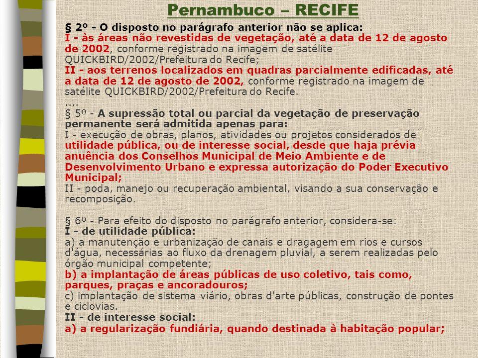 Pernambuco – RECIFE