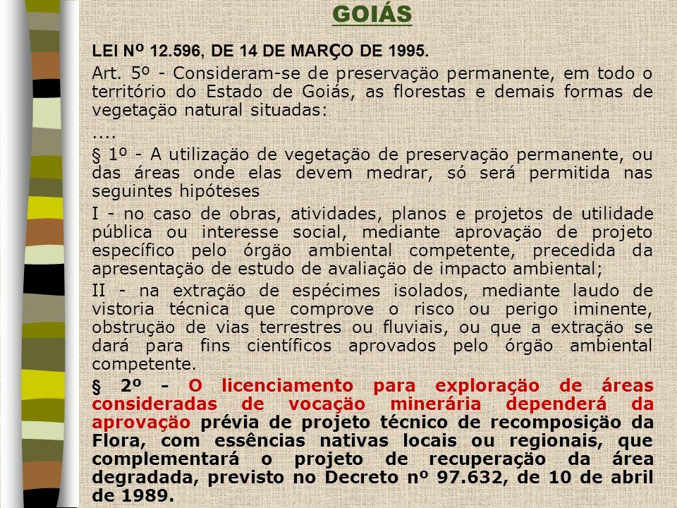 GOIÁS LEI Nº 12.596, DE 14 DE MARÇO DE 1995.