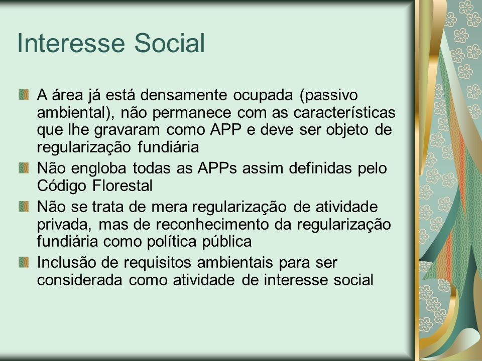 Interesse Social
