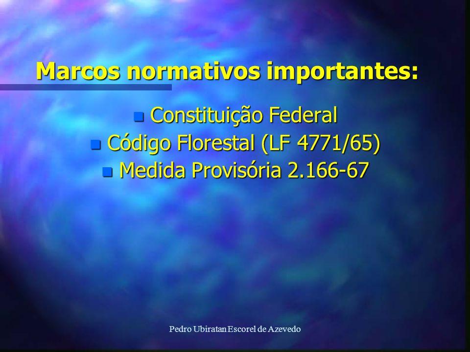 Marcos normativos importantes: