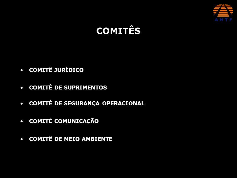 COMITÊS COMITÊ JURÍDICO COMITÊ DE SUPRIMENTOS