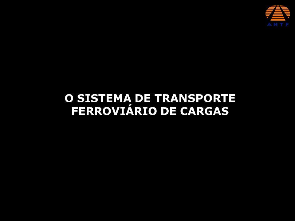 O SISTEMA DE TRANSPORTE FERROVIÁRIO DE CARGAS