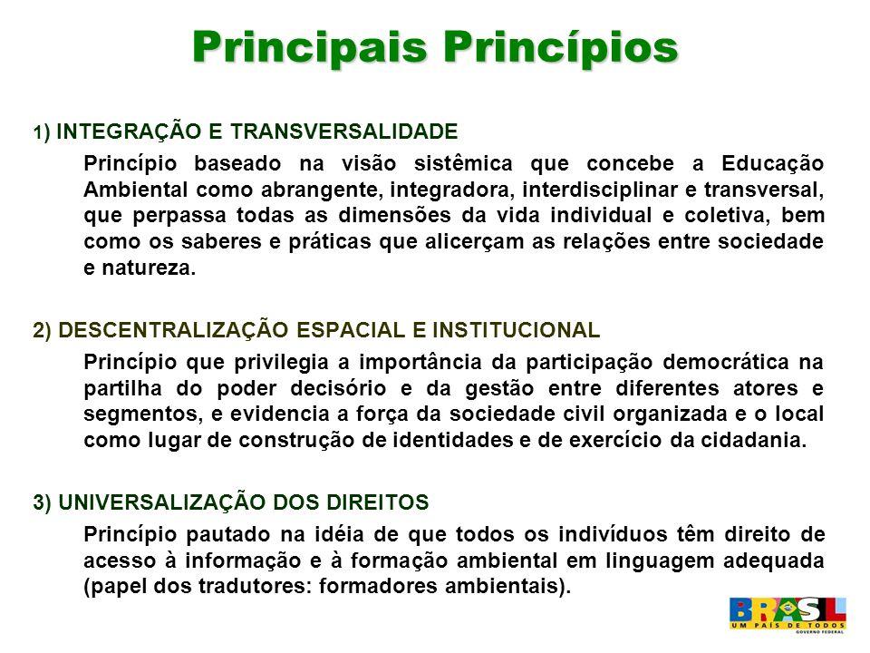 Principais Princípios