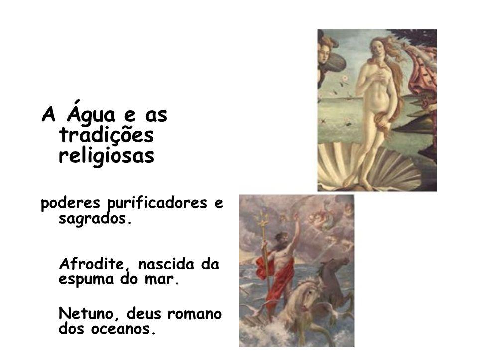 A Água e as tradições religiosas