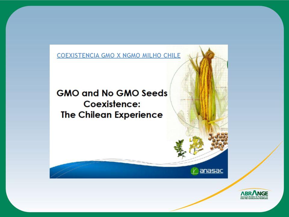 COEXISTENCIA GMO X NGMO MILHO CHILE