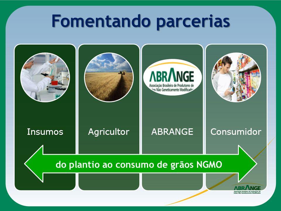Fomentando parcerias do plantio ao consumo de grãos NGMO