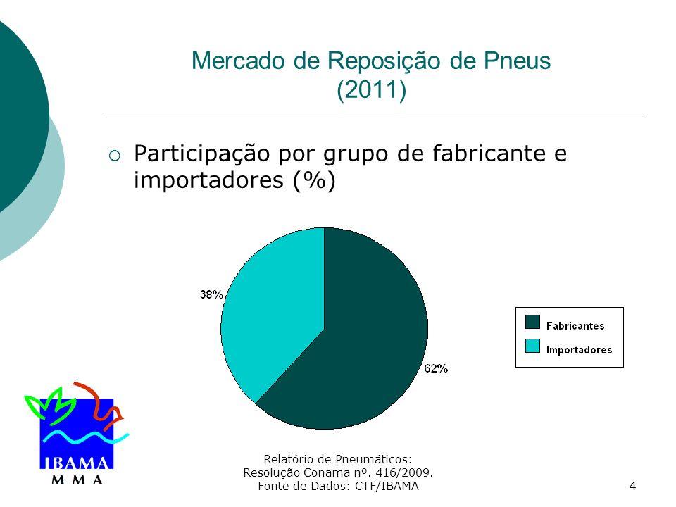 Mercado de Reposição de Pneus (2011)