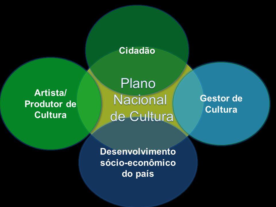Artista/ Produtor de Cultura Desenvolvimento sócio-econômico do país