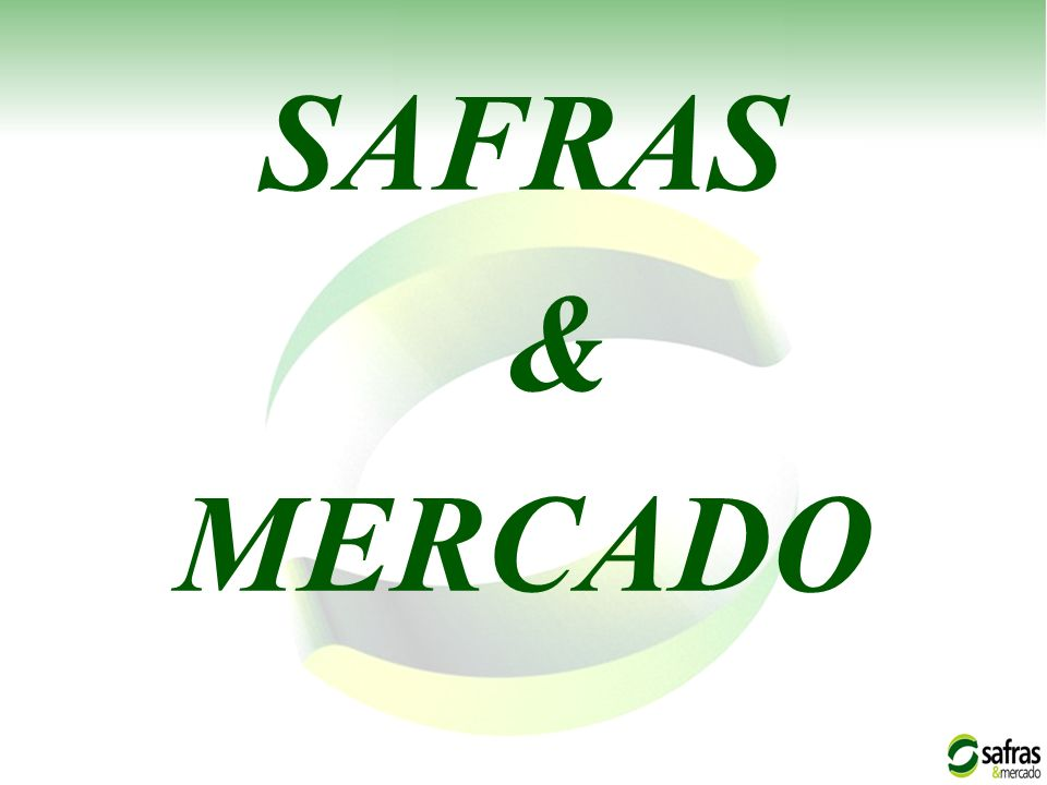 SAFRAS & MERCADO 1