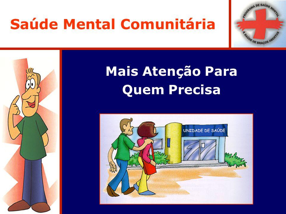 Saúde Mental Comunitária