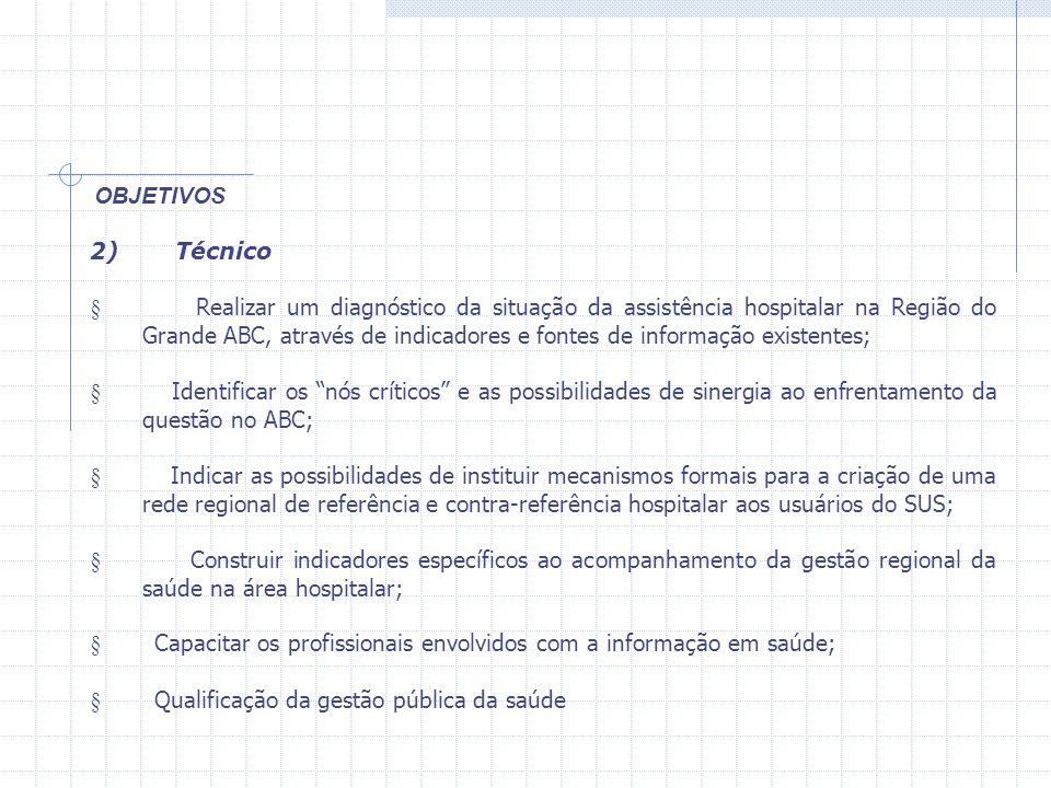 § Capacitar os profissionais envolvidos com a informação em saúde;