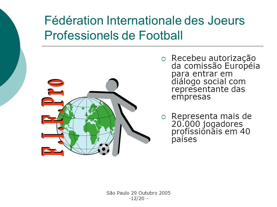 Fédération Internationale des Joeurs Professionels de Football