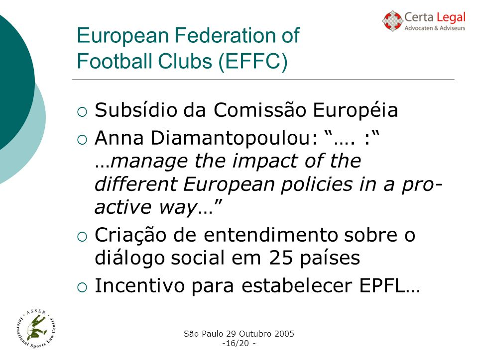 European Federation of Football Clubs (EFFC)