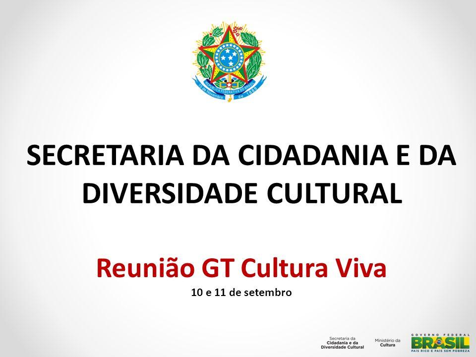 SECRETARIA DA CIDADANIA E DA DIVERSIDADE CULTURAL