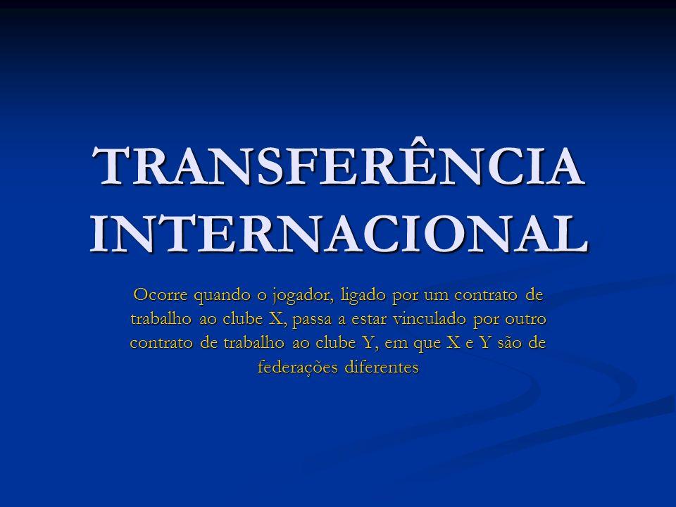 TRANSFERÊNCIA INTERNACIONAL