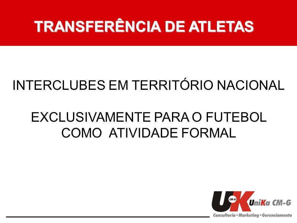 TRANSFERÊNCIA DE ATLETAS