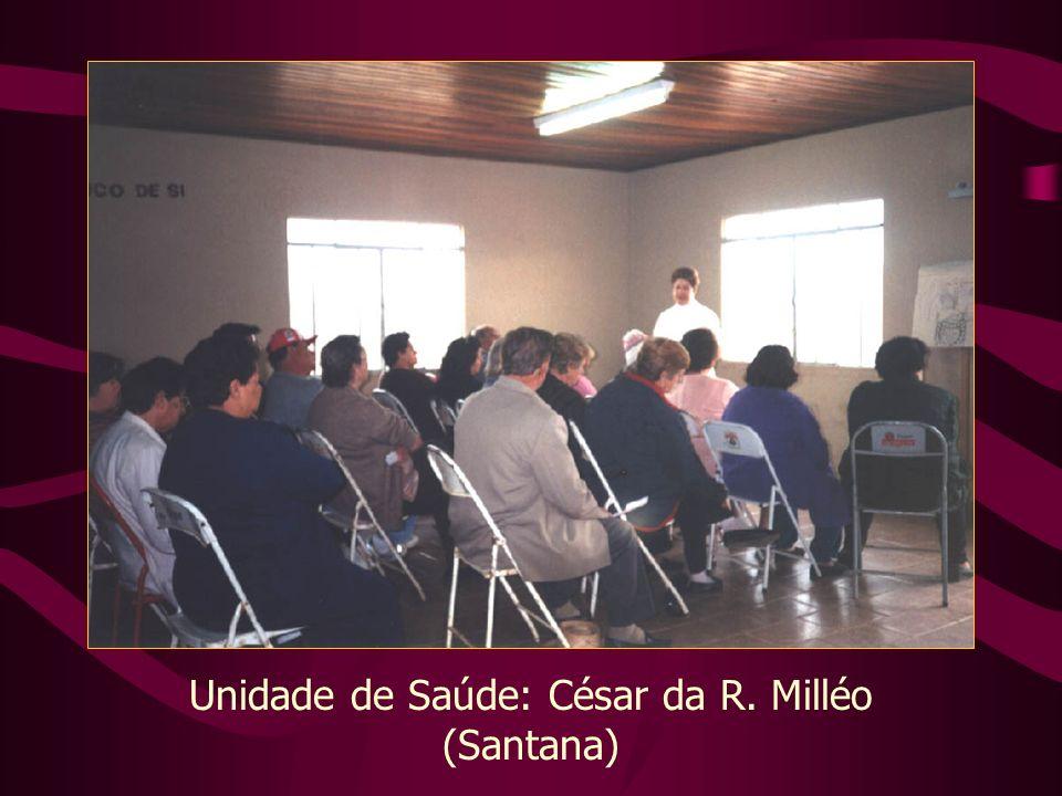 Unidade de Saúde: César da R. Milléo (Santana)
