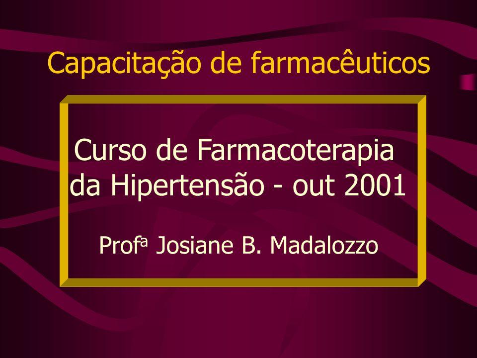 Capacitação de farmacêuticos