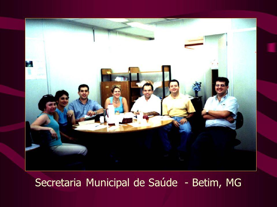 Secretaria Municipal de Saúde - Betim, MG