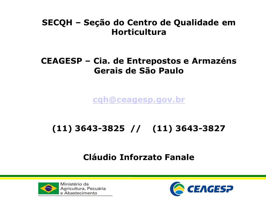 SECQH – Seção do Centro de Qualidade em Horticultura
