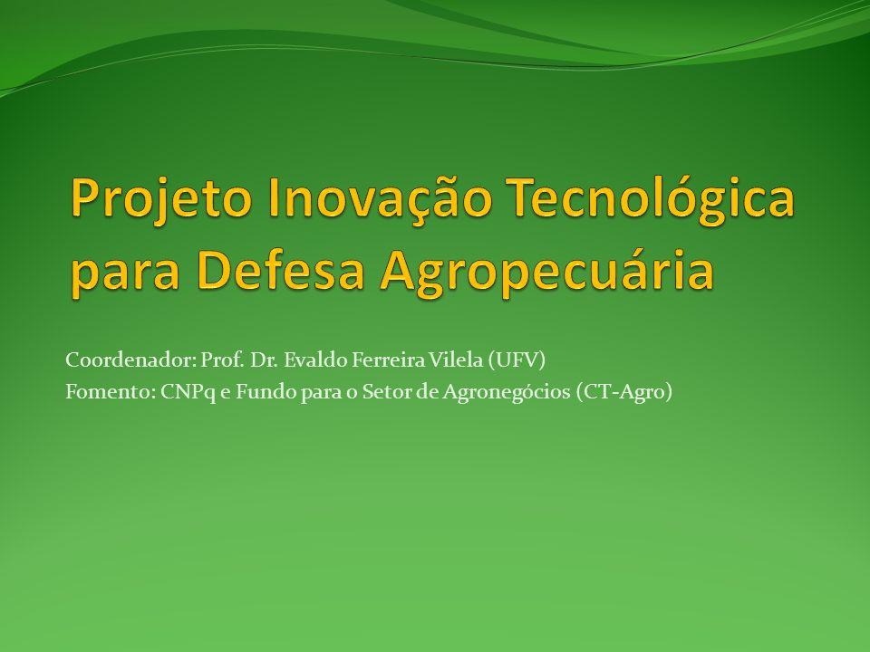 Projeto Inovação Tecnológica para Defesa Agropecuária
