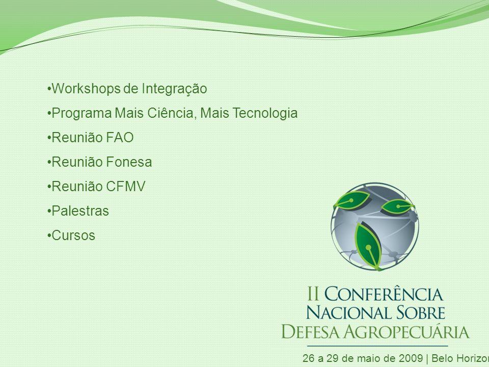 Workshops de Integração Programa Mais Ciência, Mais Tecnologia