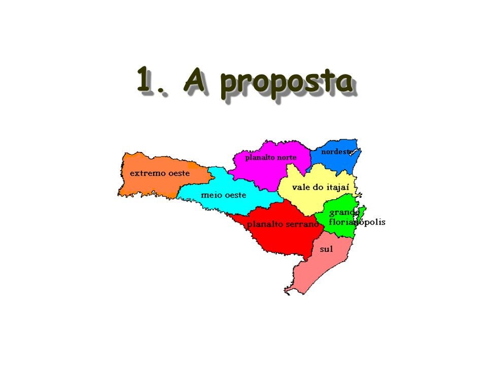 1. A proposta