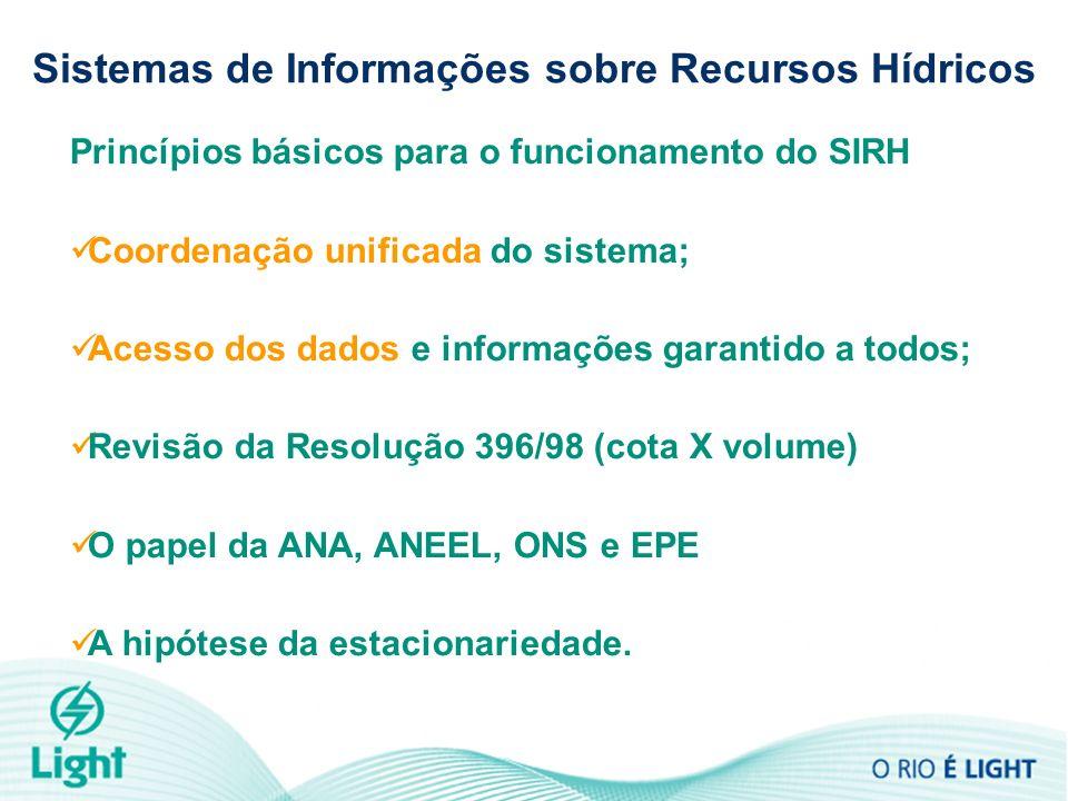 Sistemas de Informações sobre Recursos Hídricos