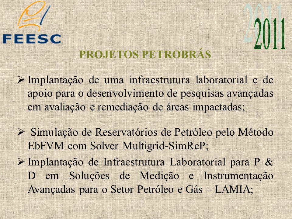 2011 PROJETOS PETROBRÁS.