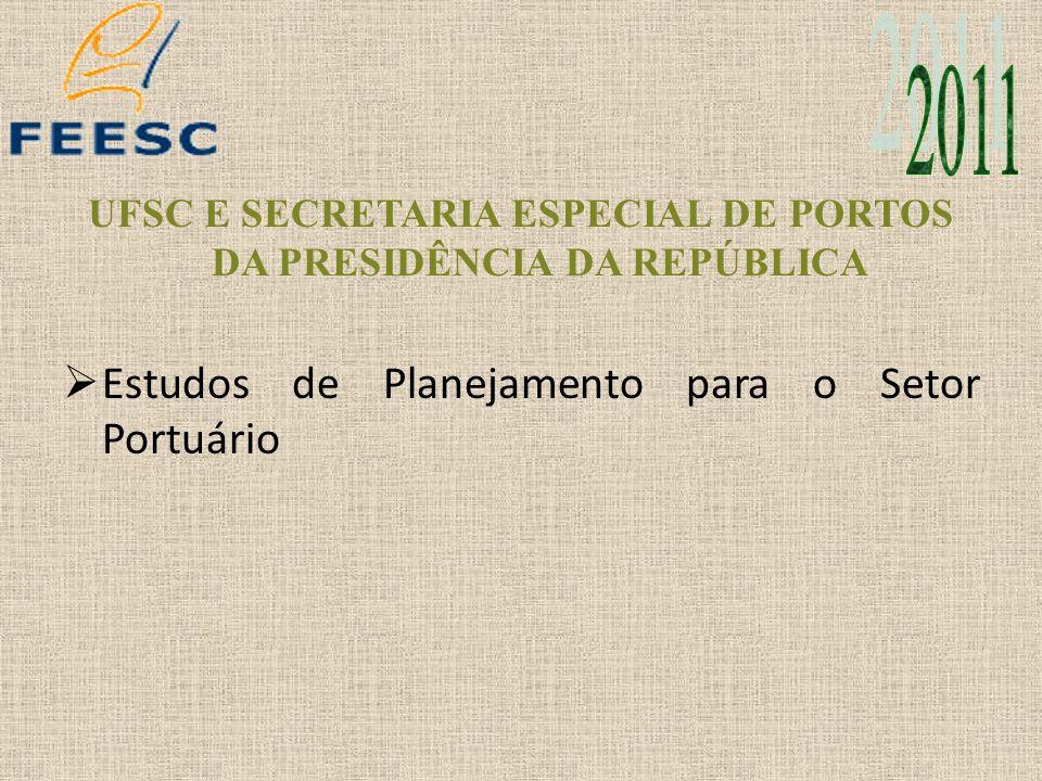 UFSC E SECRETARIA ESPECIAL DE PORTOS DA PRESIDÊNCIA DA REPÚBLICA
