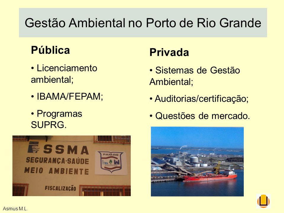 Gestão Ambiental no Porto de Rio Grande