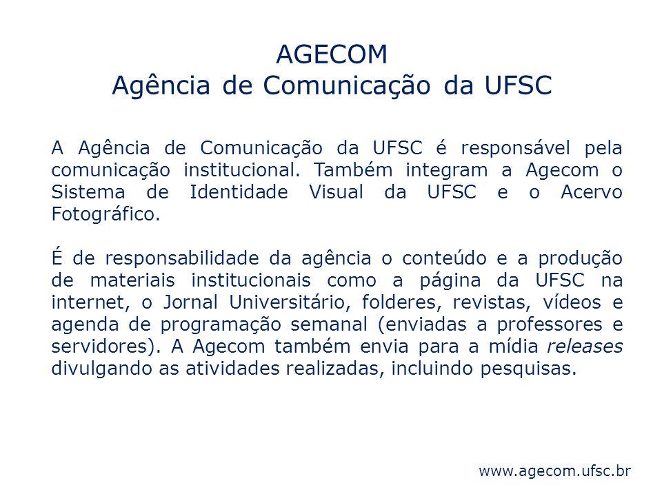 AGECOM Agência de Comunicação da UFSC