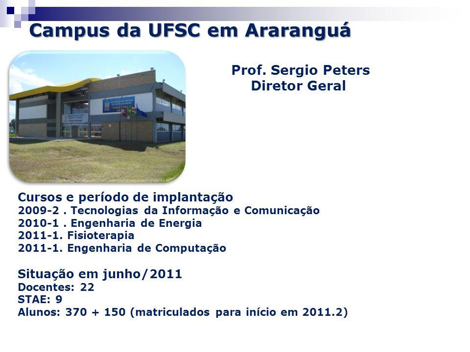 Campus da UFSC em Araranguá