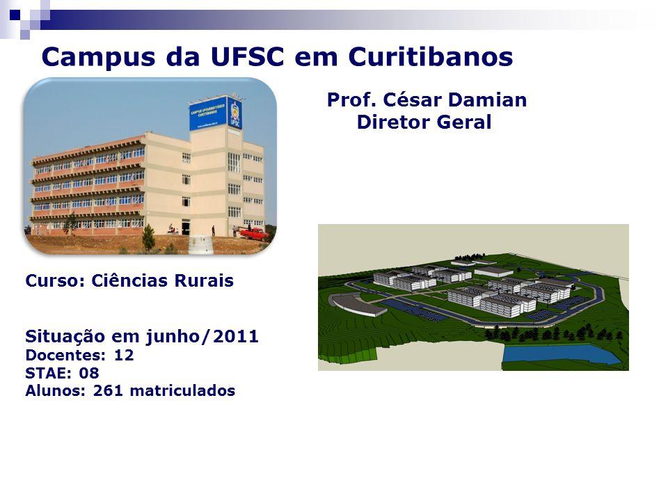 Campus da UFSC em Curitibanos