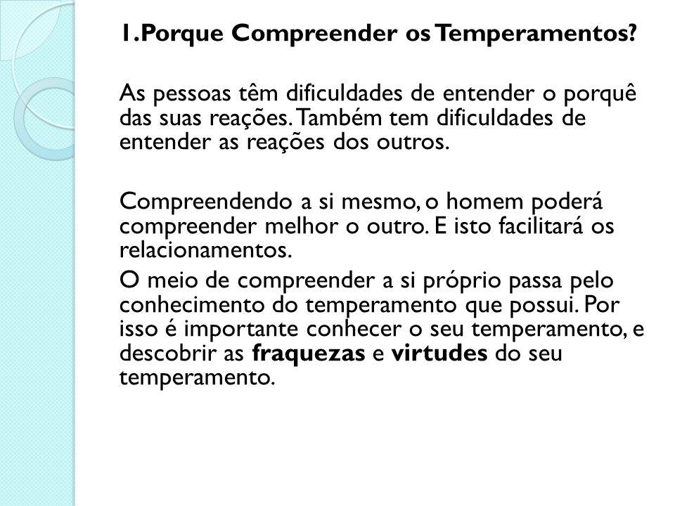 1.Porque Compreender os Temperamentos