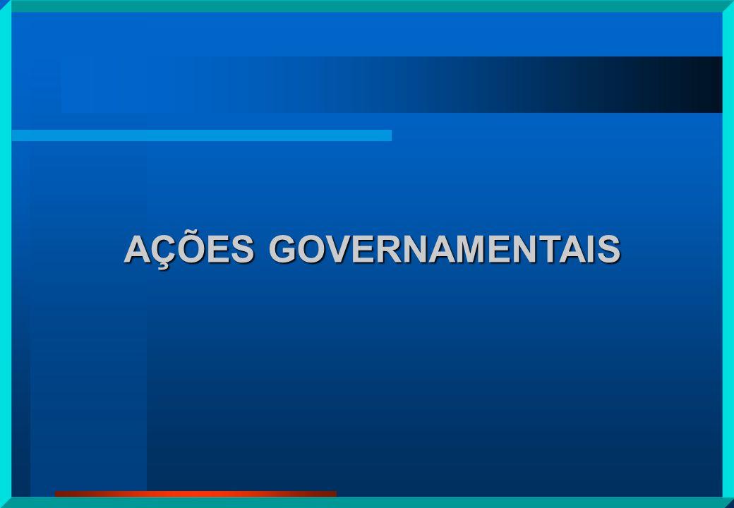 AÇÕES GOVERNAMENTAIS