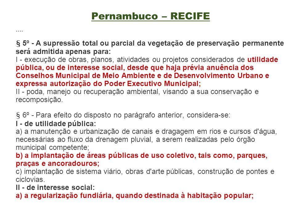 Pernambuco – RECIFE ....
