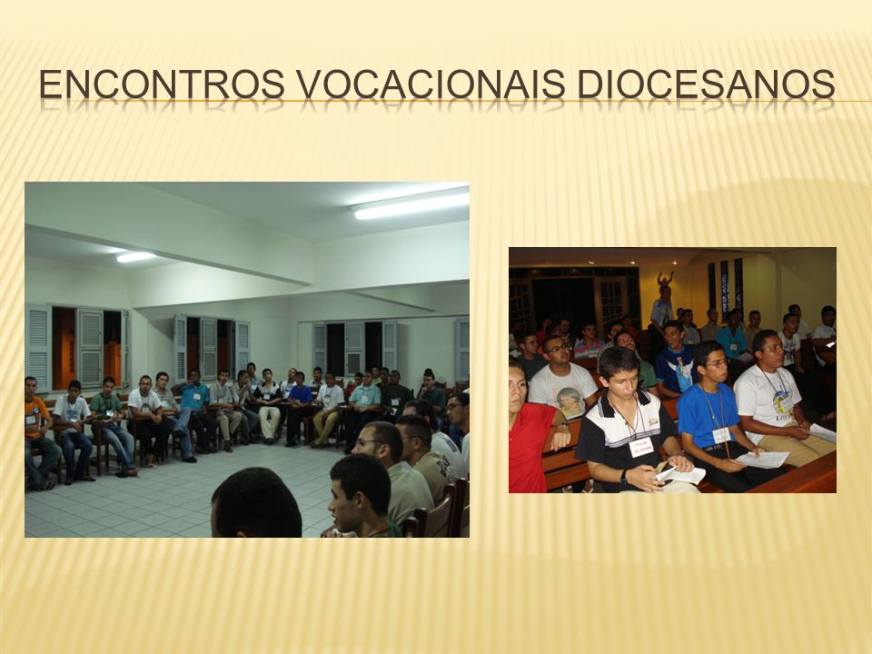 Encontros vocacionais diocesanos