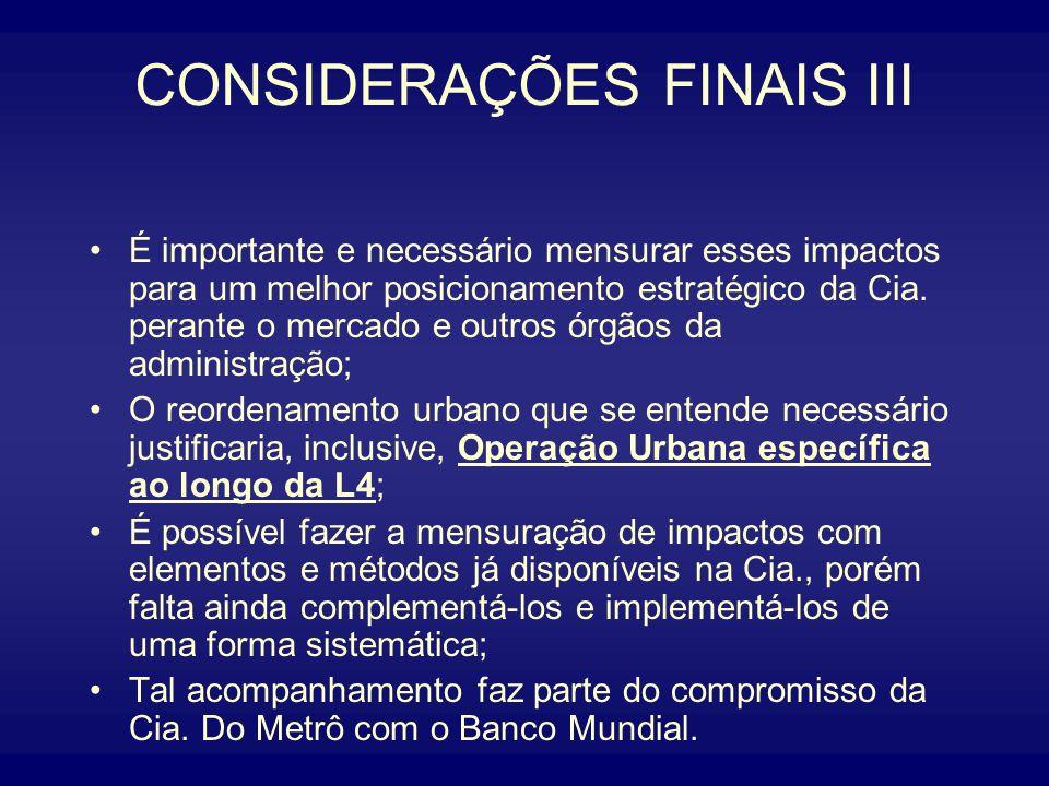 CONSIDERAÇÕES FINAIS III