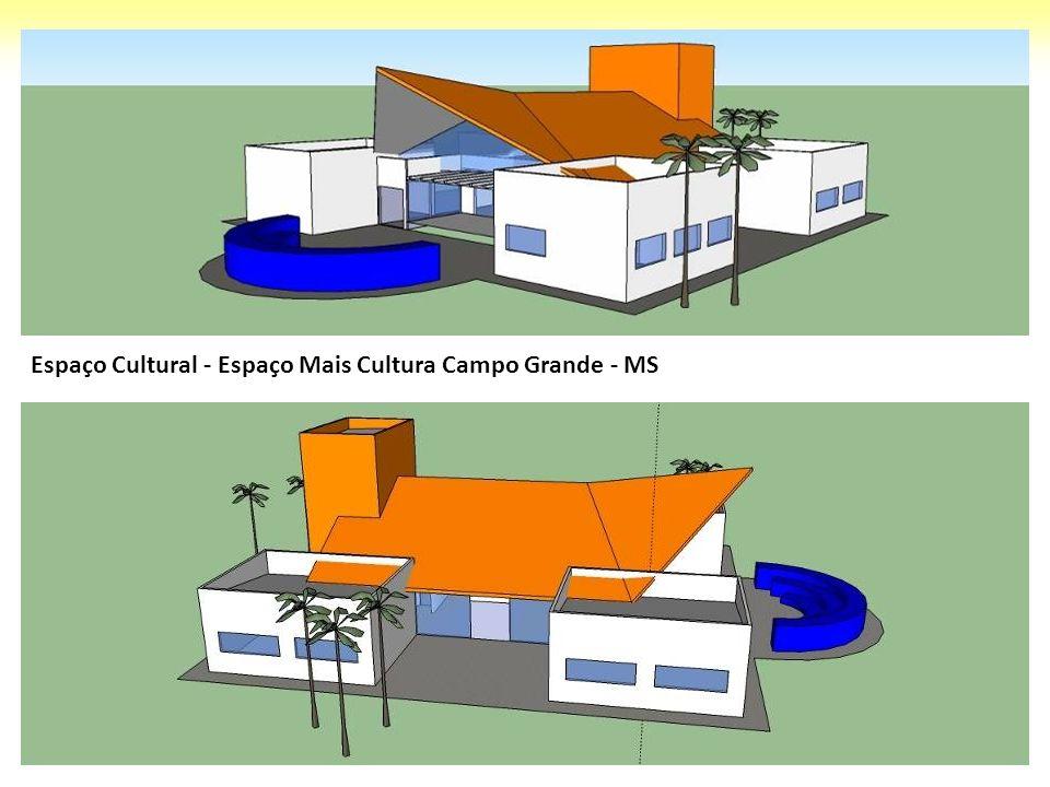 Espaço Cultural - Espaço Mais Cultura Campo Grande - MS
